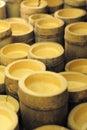 Bamboo background Stock Photography