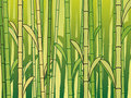 Bamboo background Royalty Free Stock Images