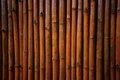 Bamboo background many sort lap to thw wall Royalty Free Stock Image