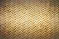 Bamboo basket abstract of texture for background Royalty Free Stock Photo