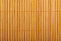 Bamboo brown straw mat as abstract texture background compositio Royalty Free Stock Photo