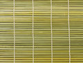 Bamboo brown straw mat as abstract texture background Royalty Free Stock Photo