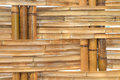 Bamboo construction interior view pattern Royalty Free Stock Photo