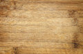 Bamboo cutting board used scratched wood background detail Royalty Free Stock Photography