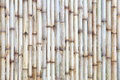 Bamboo fence background of in japanese style Royalty Free Stock Photo