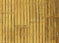 Bamboo fence background old brown Royalty Free Stock Images
