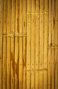 Bamboo fence background old brown Royalty Free Stock Photo