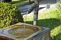 Bamboo Fountain Royalty Free Stock Image