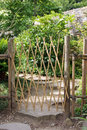 Bamboo Gate Royalty Free Stock Photography