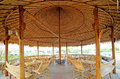 Bamboo hut Royalty Free Stock Photo