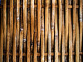 Bamboo interlace craft texture horizon background Royalty Free Stock Image