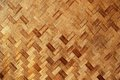 Bamboo Knit Mat Background Texture Royalty Free Stock Photo
