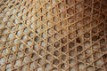 Bamboo Lattice And Paper Wall