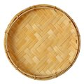 Bamboo mini basket Stock Images