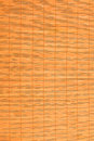 Bamboo placemat straw wood background natural decor Royalty Free Stock Photo