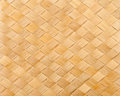 Bamboo reed texture close up woven pattern Stock Photos