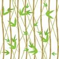 Bamboo Shoots Set Eco Decorative Element