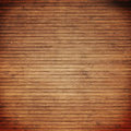 Bamboo slats background with vignette Royalty Free Stock Image
