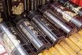 Bamboo slips Royalty Free Stock Photo