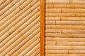 Bamboo structure natural of a skan image Royalty Free Stock Image