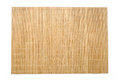 Bamboo table mat background texture Royalty Free Stock Photo