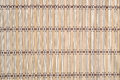 Bamboo tablecloth as background texture Royalty Free Stock Photography