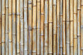 Bamboo texture the of the dried sticks Stock Photos