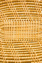 Bamboo is used for weaving. Royalty Free Stock Image