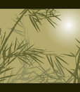 Bamboo, vector illustration Royalty Free Stock Photo