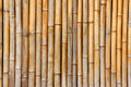 Bamboo wall close up of Royalty Free Stock Image