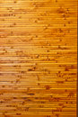Bamboo wall decoration Royalty Free Stock Photos