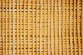 Bamboo wall house pattern background Stock Photo