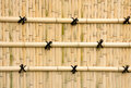 Bamboo walls for background and often seen in asia Stock Photography
