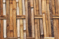 Bamboo walls texture,Woven bamboo wall textures and backgrounds Royalty Free Stock Photo