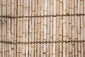 Bamboo walls is the thai style house wall Stock Photo