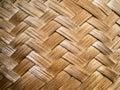 Bamboo weave pattern Stock Image
