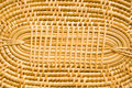 Bamboo weave pattern. Royalty Free Stock Photo