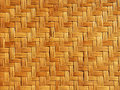Bamboo weave pattern close up Stock Photography