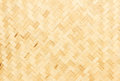 Bamboo weave texture and background Stock Photo