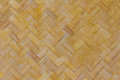 Bamboo weave texture and background closeup in thailand Royalty Free Stock Photography