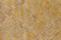 Bamboo weave texture and background wallpaper Royalty Free Stock Photo