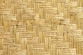 Bamboo weave texture pattern of background Royalty Free Stock Photography