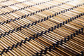 Bamboo wood mat background texture Royalty Free Stock Photo