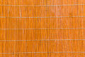 Bamboo wood orange texture with natural patterns mat texture can Royalty Free Stock Photo