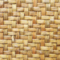 Bamboo wood texture ,Thai handwork Stock Image