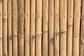 Bamboo Wood Wall Background Royalty Free Stock Photography