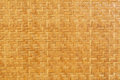 Bamboo wooden weave texture background as Royalty Free Stock Image