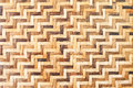Bamboo wooden weave texture background as Stock Photo