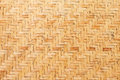 Bamboo wooden weave texture background as Stock Image