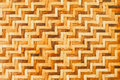 Bamboo wooden weave texture background as Stock Photography